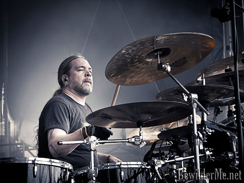 Tomas Haake Meshuggah