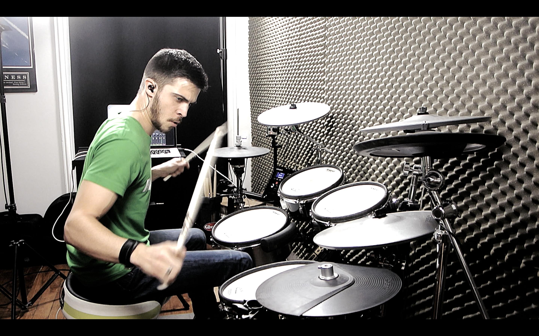 10 étapes pour faire une bonne drum cover – avec Adrien Drums