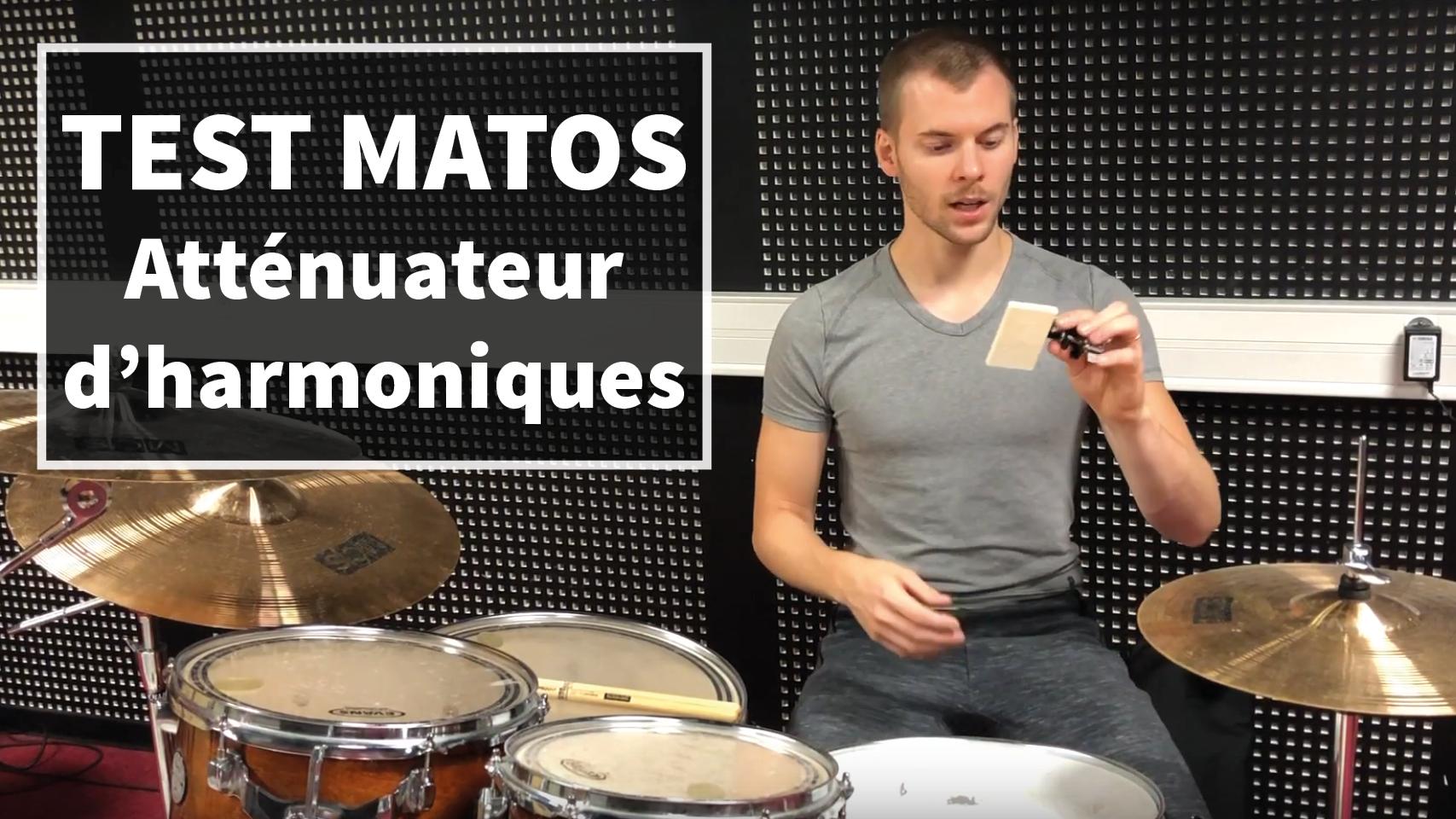 Test Matos : 1 solution pour améliorer le son de ta caisse claire